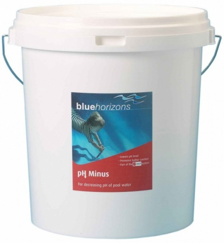 blue horizons ph minus granules 25kg ph reducer for swimming pools pool market. Black Bedroom Furniture Sets. Home Design Ideas