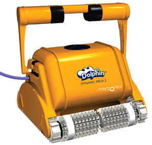 Dolphin dynamic pro x2 automatic commercial swimming pool cleaner by maytronics pool market for Poole dolphin swimming pool prices