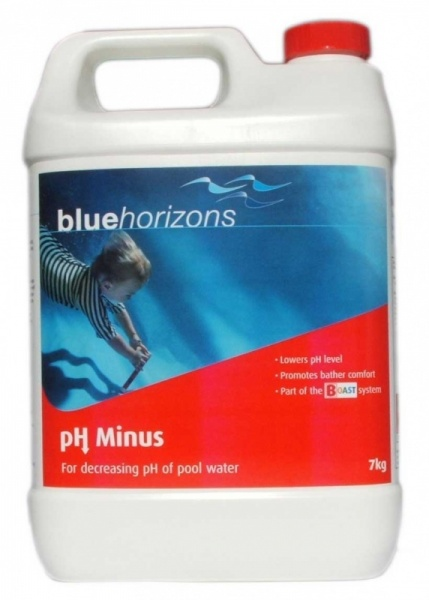 blue horizons ph minus granules 7kg ph reducer for swimming pools pool market. Black Bedroom Furniture Sets. Home Design Ideas