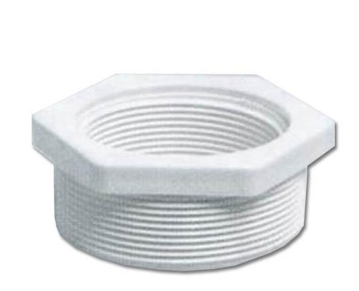 Certikin inch to threaded reducer white abs