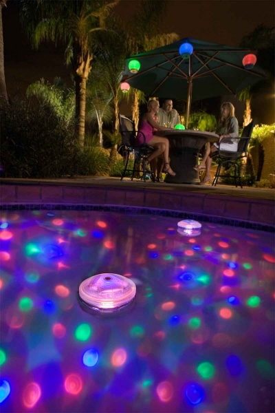 hot tub spa light show disco light from game pool market
