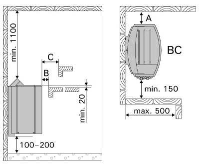 harvia vega sauna heaters bc60 and bc80 pool market the harvia vega models bc60 and bc80 are equipped a built in control unit sauna stones are separately