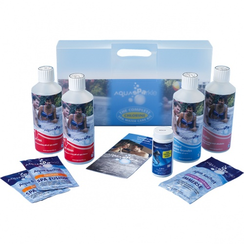 AquaSparkle Complete Hot Tub & Spa Chlorine Starter Pack