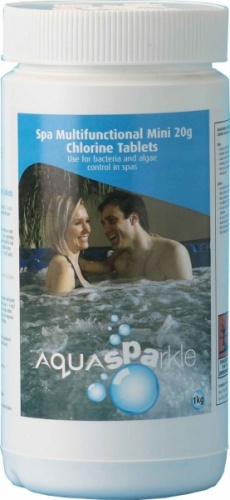 Aqua Sparkle Multifunctional Chlorine Tablets 1kg