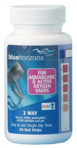 Blue Horizons Aquablanc & Active Oxygen Test Strips
