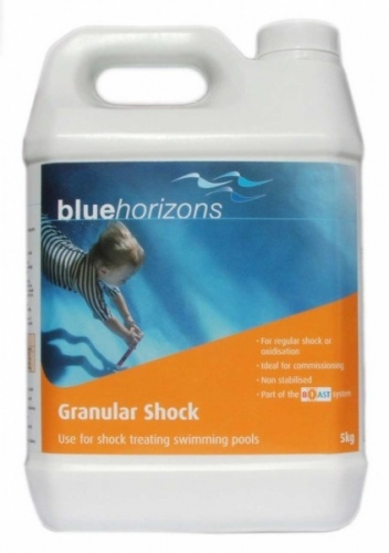 Blue horizons granular shock chlorine 5kg highly - Can you over shock a swimming pool ...