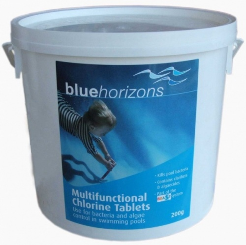 Blue Horizons Multifunctional 200g Chlorine Tablets 5kg