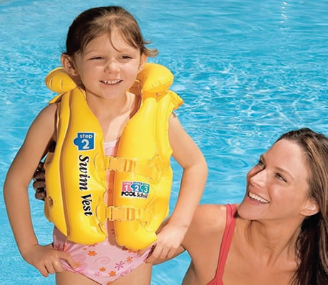 Intex Deluxe Swim Vest 3-6 Years