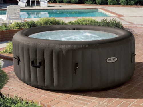 intex inflatable purespa jet massage hydrotherapy hot tub pool market. Black Bedroom Furniture Sets. Home Design Ideas