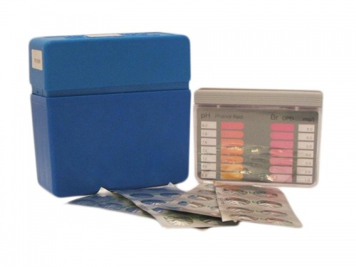 Bromine & pH Pool Tester Kit