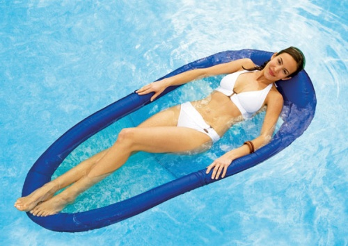 Spring Floating Lounger  Photo Prints