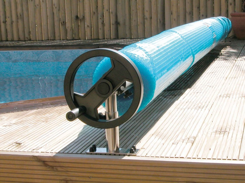 Above Ground Pool Cover Reel System - Pool Market