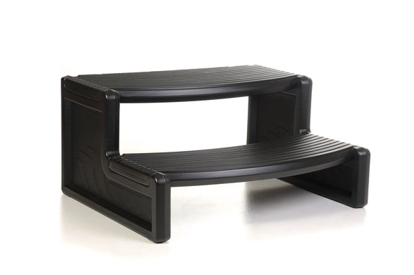 Amazing Black 27 Handi Spa Hot Tub Step Ibusinesslaw Wood Chair Design Ideas Ibusinesslaworg