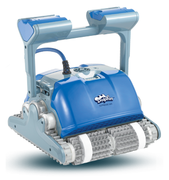 Dolphin m400 automatic swimming pool cleaner by maytronics pool market for Poole dolphin swimming pool prices