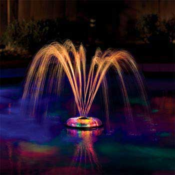 Hot Tub & Spa AquaGlow Light Show & Fountain from Game - Pool Market
