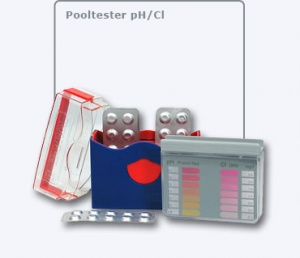 Chlorine & pH Pool Tester Kit