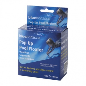 Blue Horizons Pop Up Pool Floater