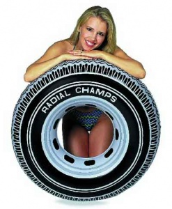 Intex  Inflatable Giant Tyre Tube
