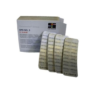 Lovibond DPD No 3 Comparator Test Tablets