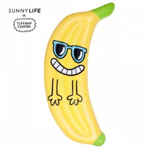 Sunnylife Luxe Lie-On Tropic-nana Banana Float