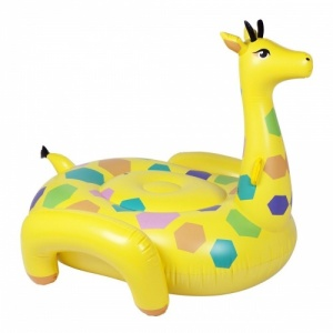Sunnylife Luxe Giraffe Ride-On Float