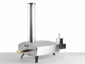 Ooni 3 Portable Wood Fired Oven with Pellets & Pizza Peel (Package)